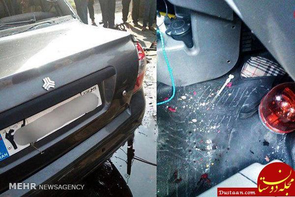 www.dustaan.com پشت پرده تصادف مرگبار تیبا با تاکسی سمند / مواد مخدر حمل می کرده +عکس