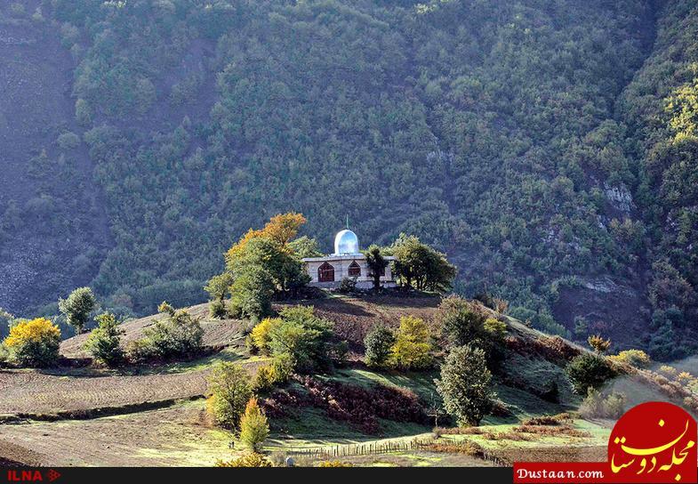 www.dustaan.com تصاویر فوق العاده زیبا از طبیعت پاییزی بره سر رودبار گیلان