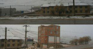 وقوع برف و کولاک در ۱۰ استان کشور +عکس