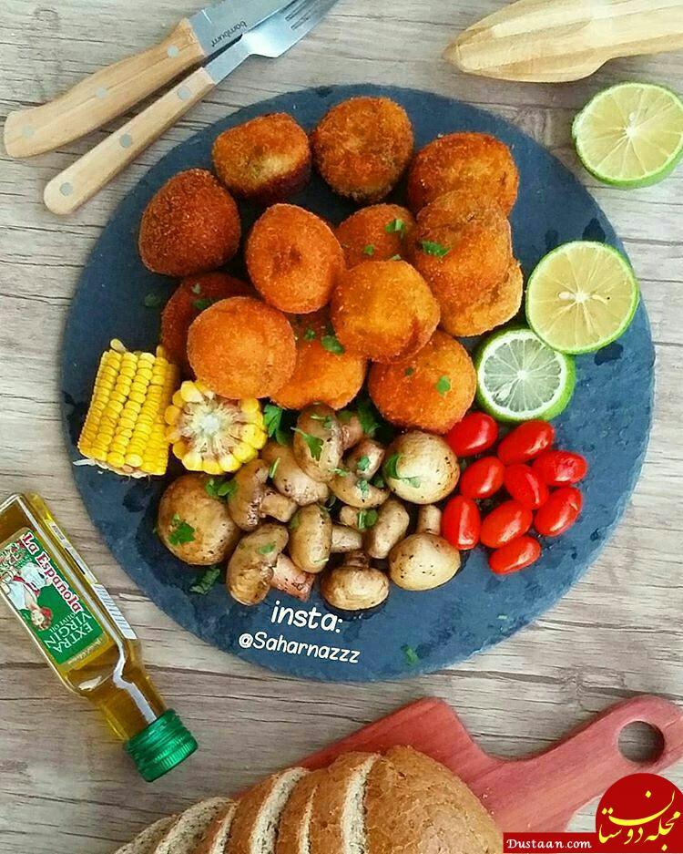 www.dustaan.com پیشنهاد تهیه یک شام خوشمزه و سریع در خانه
