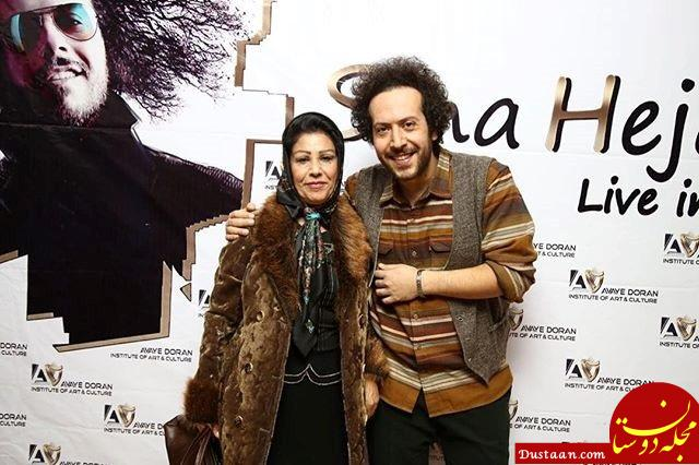 www.dustaan.com بیوگرافی صدرالدین حجازی ، همسر و پسرش سینا حجازی