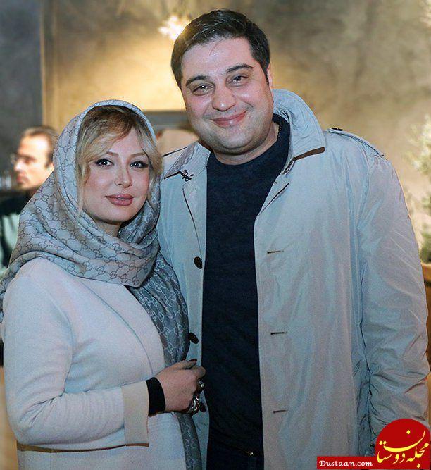 www.dustaan.com نیوشا ضیغمی و همسرش در مراسم اکران «ثبت با سند برابر است» +عکس