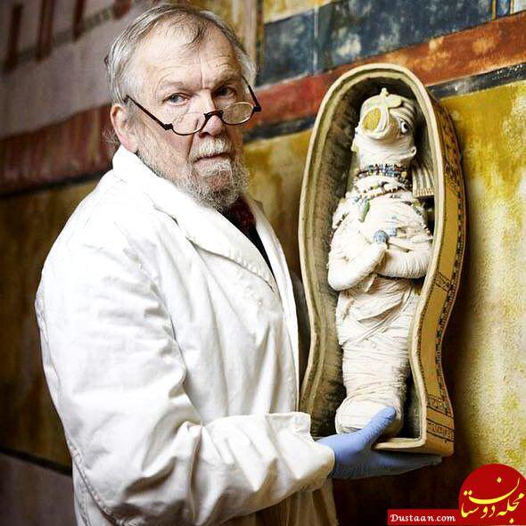 www.dustaan.com عروسک مومیایی 3 هزار ساله در مصر! +عکس