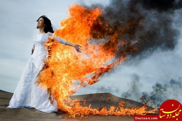 www.dustaan.com عاقبت وحشتناک دختران هندی که با جهیزیه کم به خانه شوهر می روند!