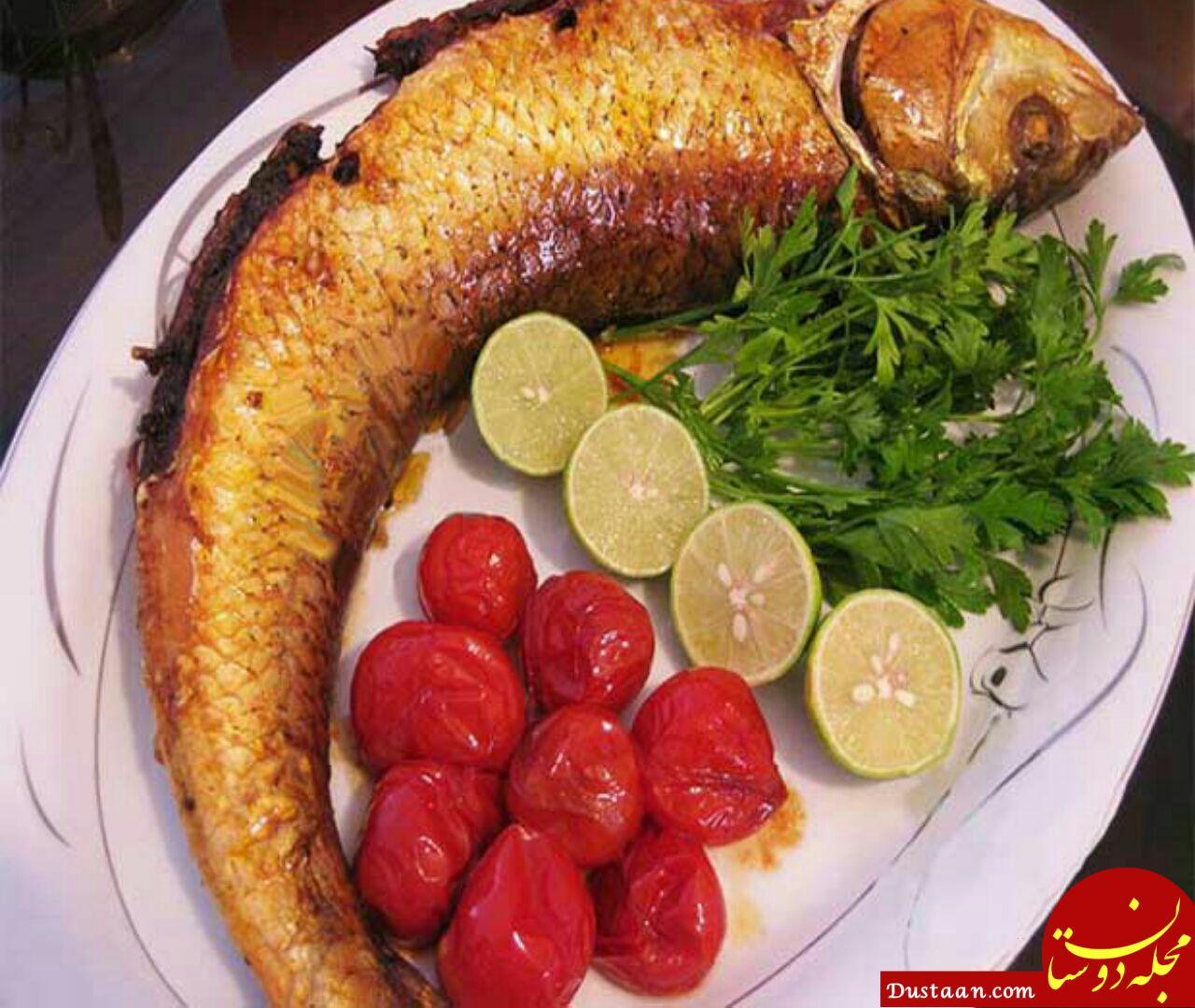 www.dustaan.com طرز تهیه ماهی شکم پر به سبکی خوشمزه