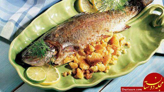 www.dustaan.com طرز تهیه ماهی شکم به سبکی بسیار خوشمزه