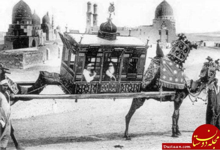 www.dustaan.com وسیله سفر ثروتمندان در زمان قدیم! +عکس