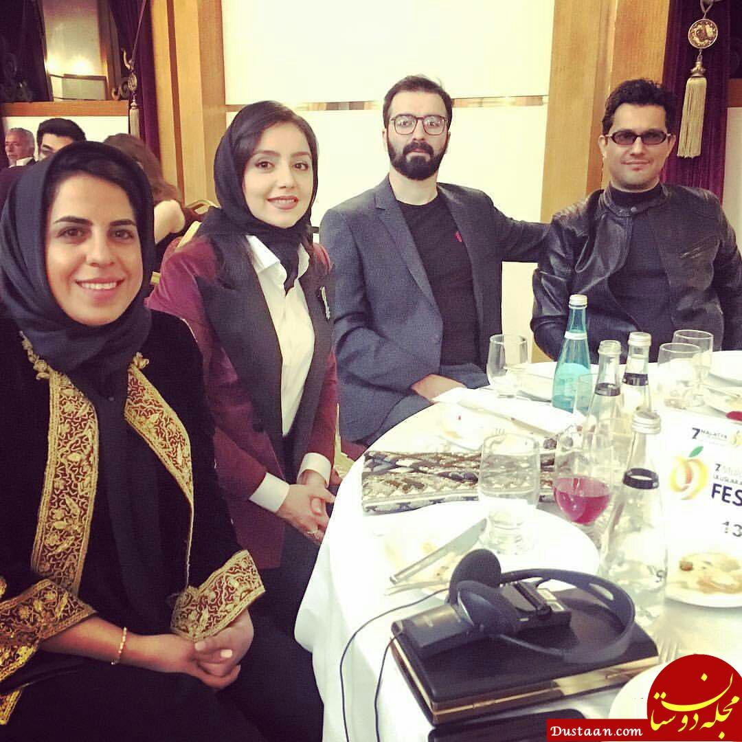 www.dustaan.com حامد بهداد و نازنین بیاتی در جشنواره فیلم مالاتیا ترکیه +عکس