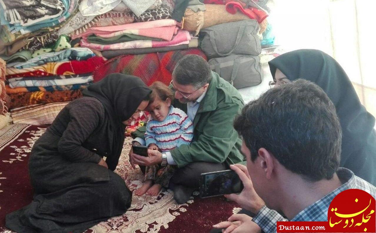 www.dustaan.com نجات دختربچه ۲ ساله بعد از ۵ روز از زیر آوار! +عکس