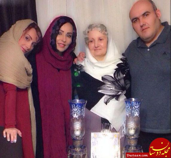 www.dustaan.com سلفی بازیگران زن در جشن تولد پرستو صالحی +عکس