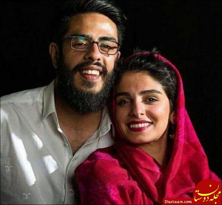 پوریا شکیبایی و همسرش پریا در مراسم اکران «کمدی انسانی» +عکس