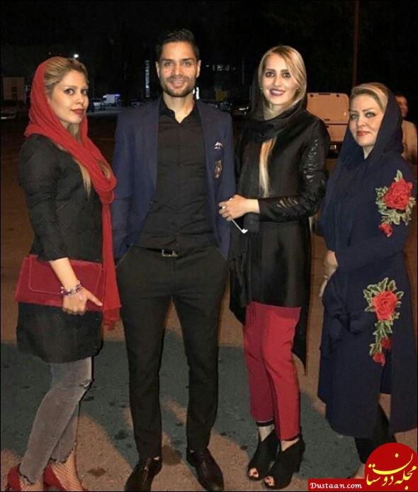 www.dustaan.com ستاره پرسپولیس در کنار همسرش +تصاویر