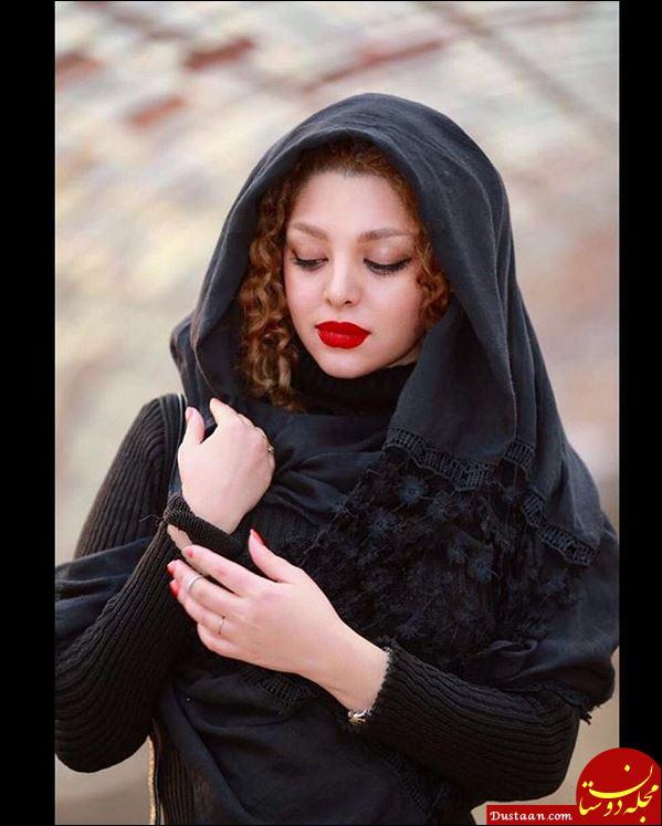 www.dustaan.com حجاب نامتعارف بازیگر دورگه در حرم امام رضا (ع)