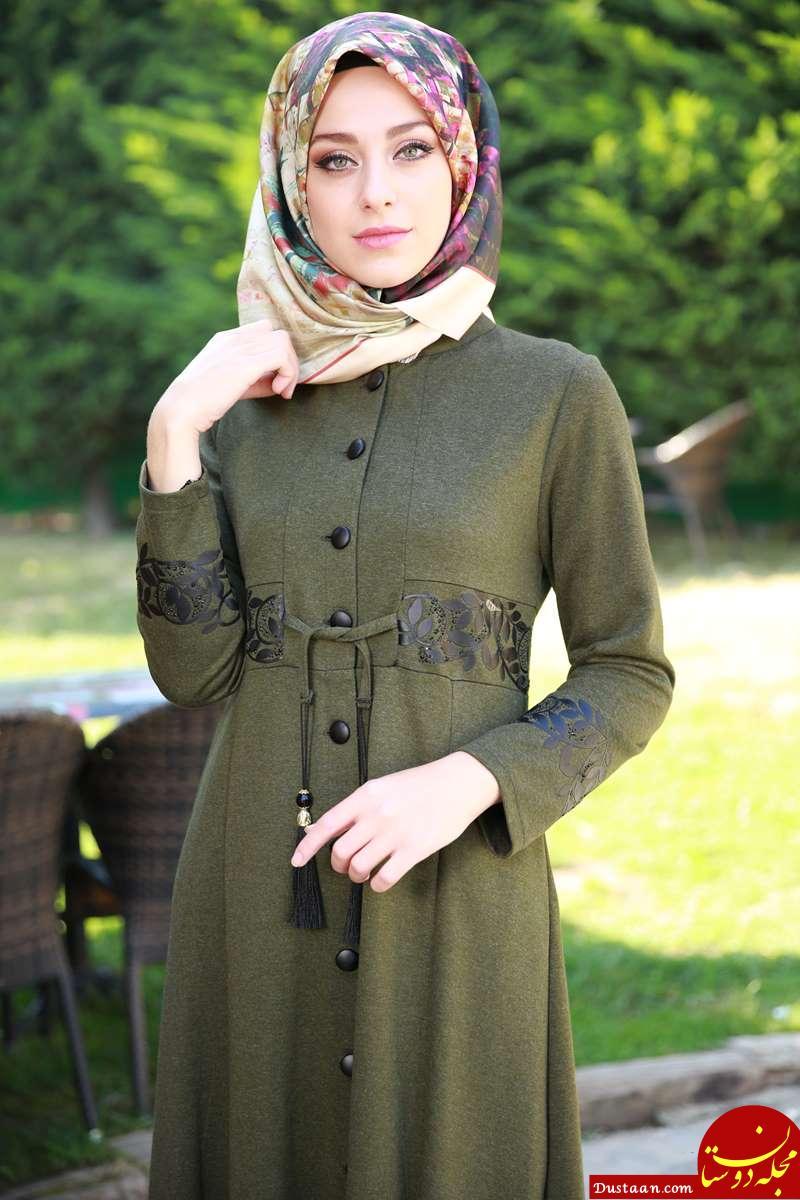 www.dustaan.com جدیدترین مدل های مانتو مجلسی در رنگبندی های مختلف «سری 2»