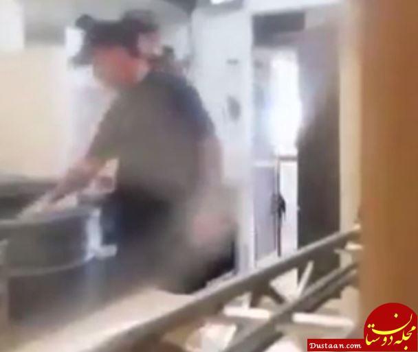www.dustaan.com اقدام کثیف مدیر یک رستوران معروف! +عکس