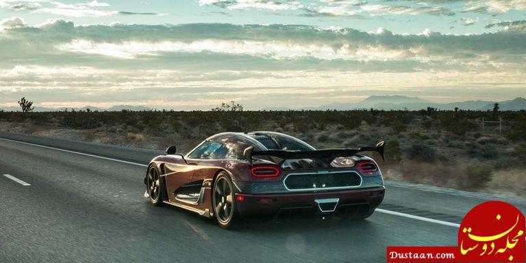 www.dustaan.com ابر خودروی سوئدی رکورد سریعترین خودروی شهری جهان را شکست! +تصاویر