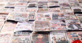 جمع آوری بیش از ۱۱ میلیون فیلم غیرمجاز در تهران +تصاویر