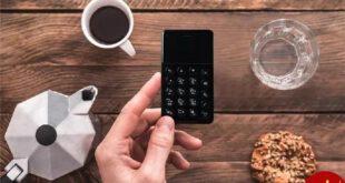 گوشی ساده و امن اندرویدی با ظاهری شبیه ماشین حساب+عکس