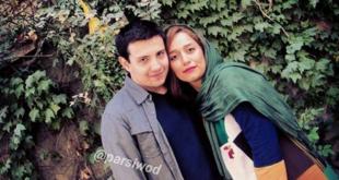 بازیگر سریال «لیسانسهها» در کنار همسرش