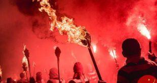 شب آتشبازی انگلیسی در عکس روز نشنال جئوگرافیک +عکس