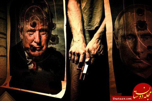 www.dustaan.com داعش ترامپ را با انتشار این پوستر تهدید کرد! +عکس