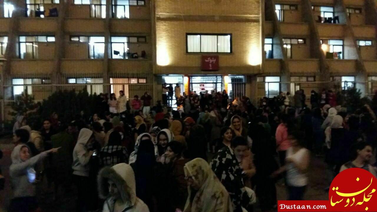 www.dustaan.com خرابی زلزله در شهر های ایران