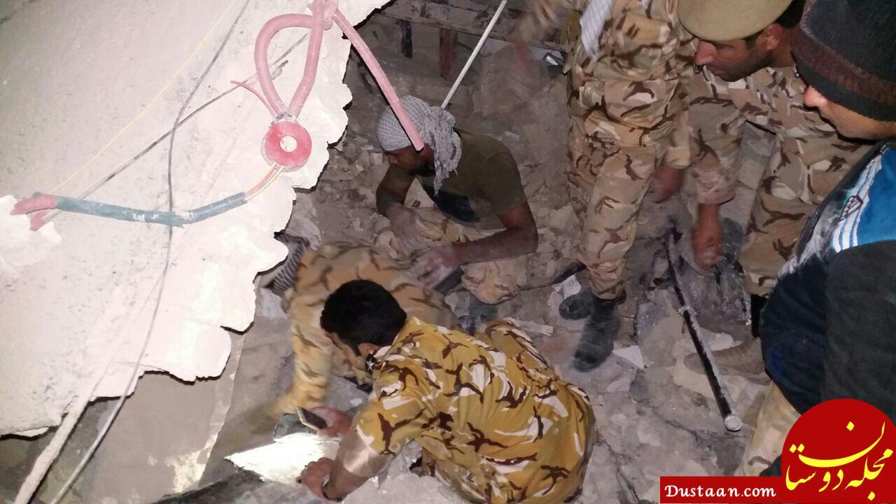 www.dustaan.com تصاویری از نجات مردم از زیر آوار توسط تکاوران ارتش