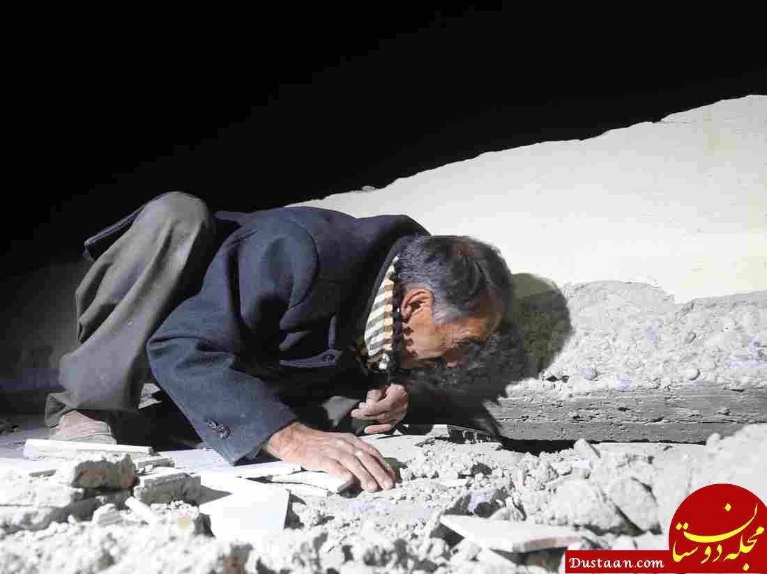 www.dustaan.com آمار فوتی های زلزله به 328 نفر رسید