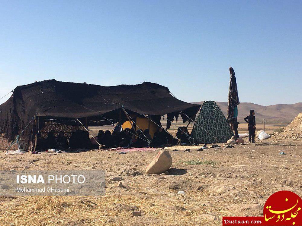 www.dustaan.com عزاداری اهالی سرپل ذهاب برای درگذشتگان زلزله