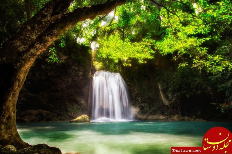 www.dustaan.com عکس: آب این آبشار شما را تبدیل به سنگ خواهد کرد