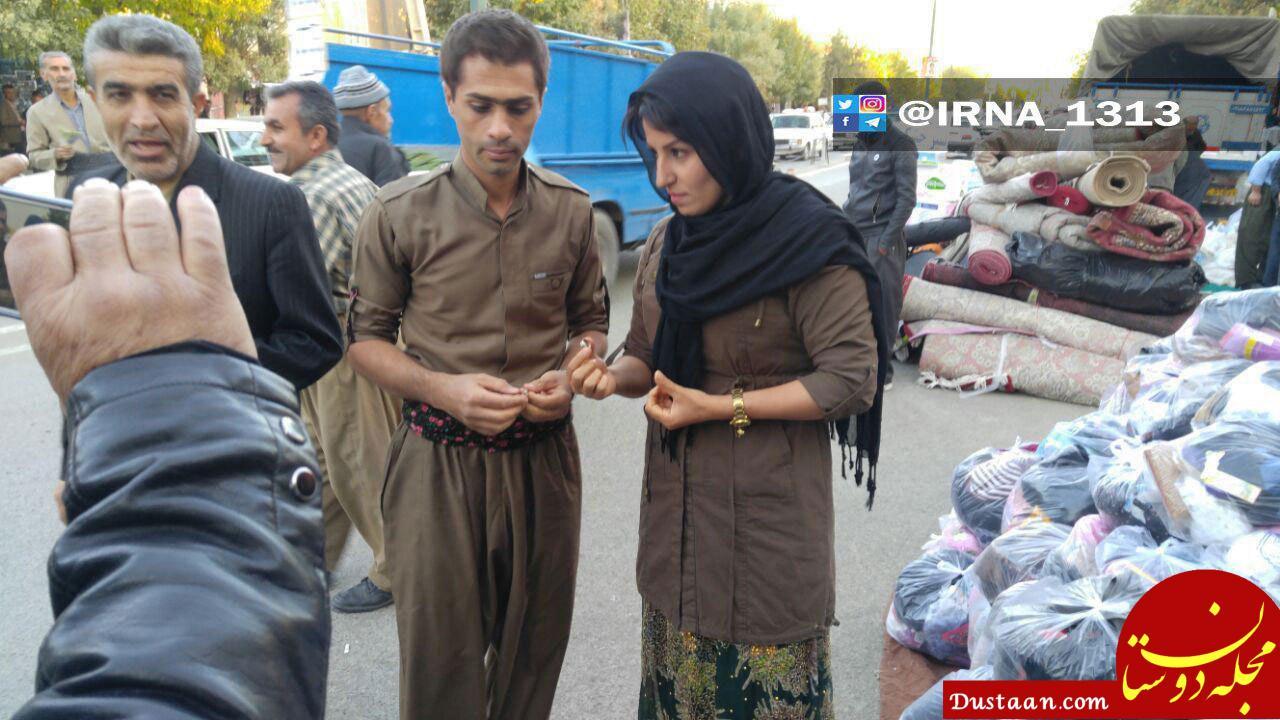 www.dustaan.com زوجی که جلقه ازدواجشان را تقدیم زلزله زدگان کردند +عکس