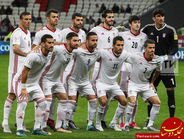 www.dustaan.com آخرین رده بندی فیفا؛ ایران دو پله صعود کرد