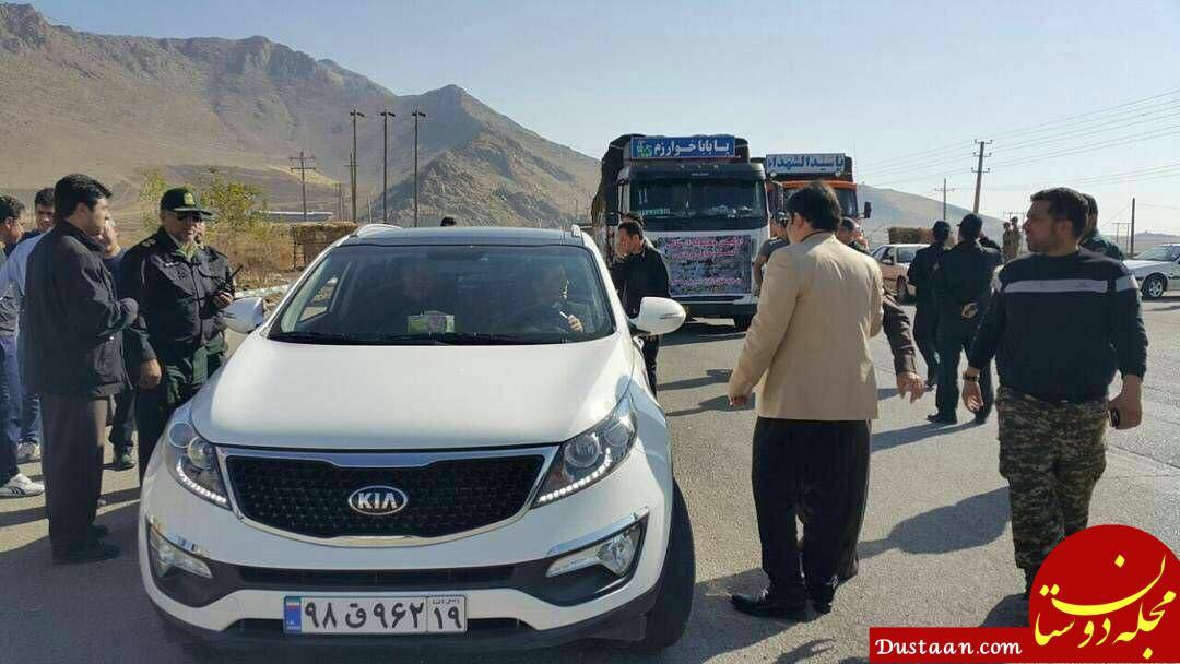 www.dustaan.com حضور علی دایی در در مناطق زلزله زده کرمانشاه +عکس