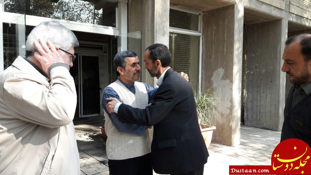 www.dustaan.com دلیل بست نشینی حمید بقایی!