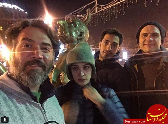www.dustaan.com «بابک حمیدیان» و «مینا ساداتی» در ارمنستان +عکس