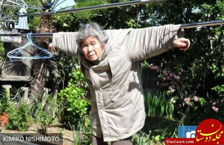 www.dustaan.com سلفی های مادربزرگ 89 ساله موجب حیرت کاربران شد! +تصاویر