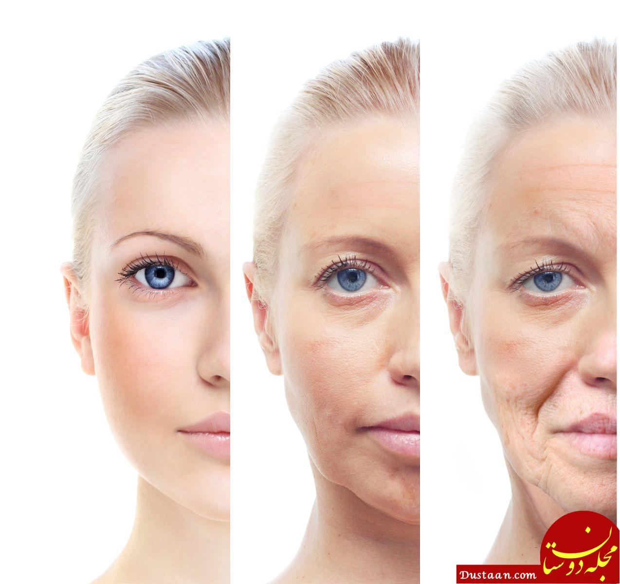 www.dustaan.com 7 رفتار اشتباهی که موجب پیری زودرس می شود!