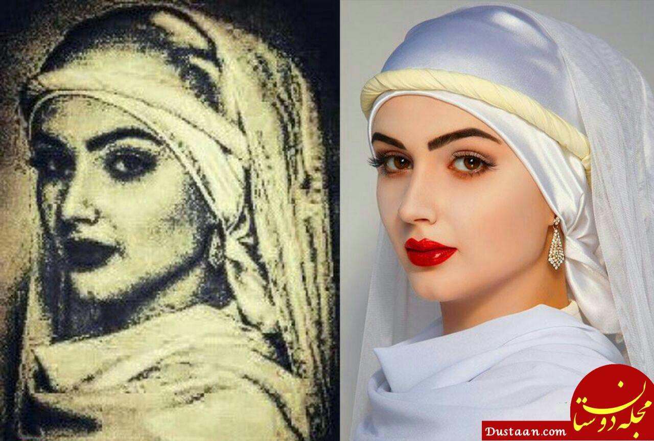 www.dustaan.com بازسازی چهره بانو زلیخا در موزه مصر! +عکس