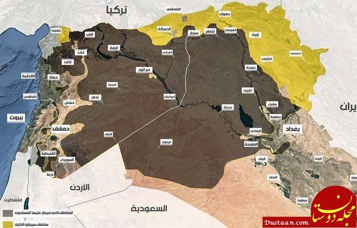 www.dustaan.com داعش تمام شد ؛ سردار سلیمانی و یارانش اینگونه اربیل را نجات دادند +تصاویر