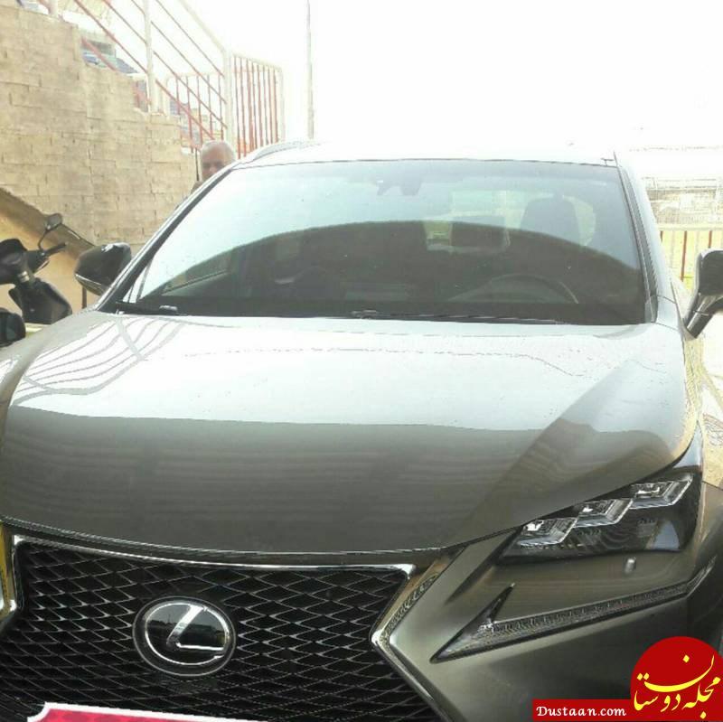 www.dustaan.com اتومبیل لوکس دروازه بان پرسپولیس +عکس