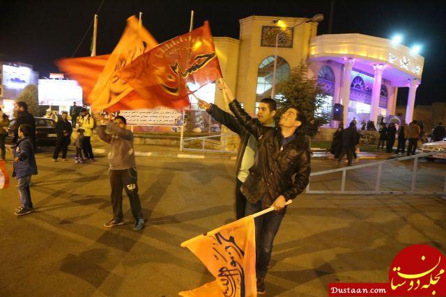 www.dustaan.com جشن پیروزی بر تروریست های تکفیری داعش در نیشابور +عکس