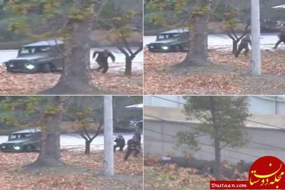 www.dustaan.com تلاش عجیب سرباز کره شمالی برای فرار به کره جنوبی! +عکس
