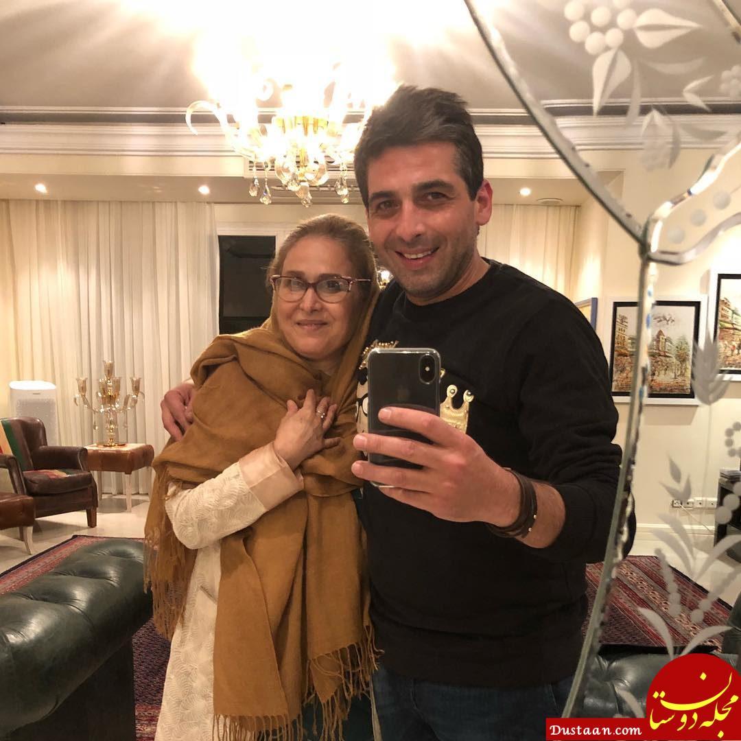 www.dustaan.com تولد «حمید گودرزی» در کنار مادرش +عکس