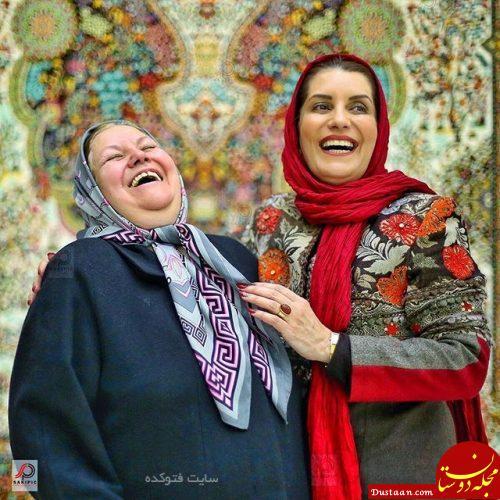 عکس فریبا کوثری و مادرش