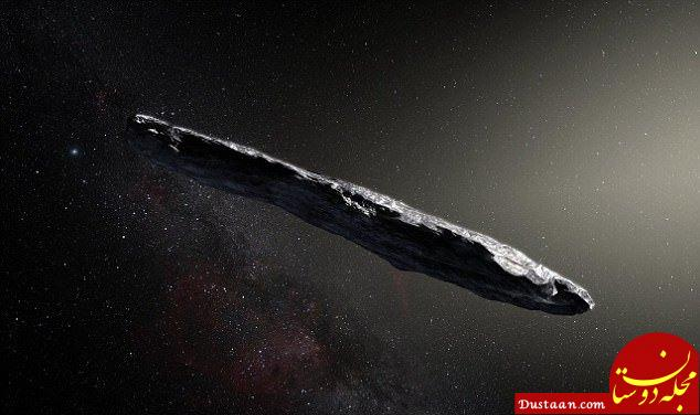 www.dustaan.com نزدیک شدن اولین دنباله دار بیگانه به زمین +تصاویر