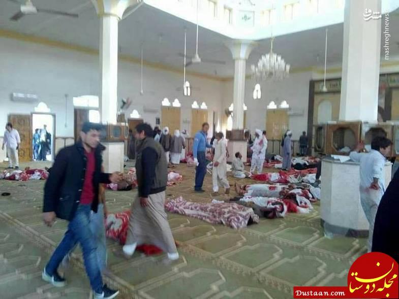 www.dustaan.com اولین تصاویر منتشر شده از حمله خونین تروریستی در مصر