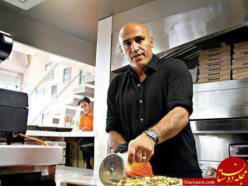 www.dustaan.com علیرضا منصوریان آشپز شد! +عکس