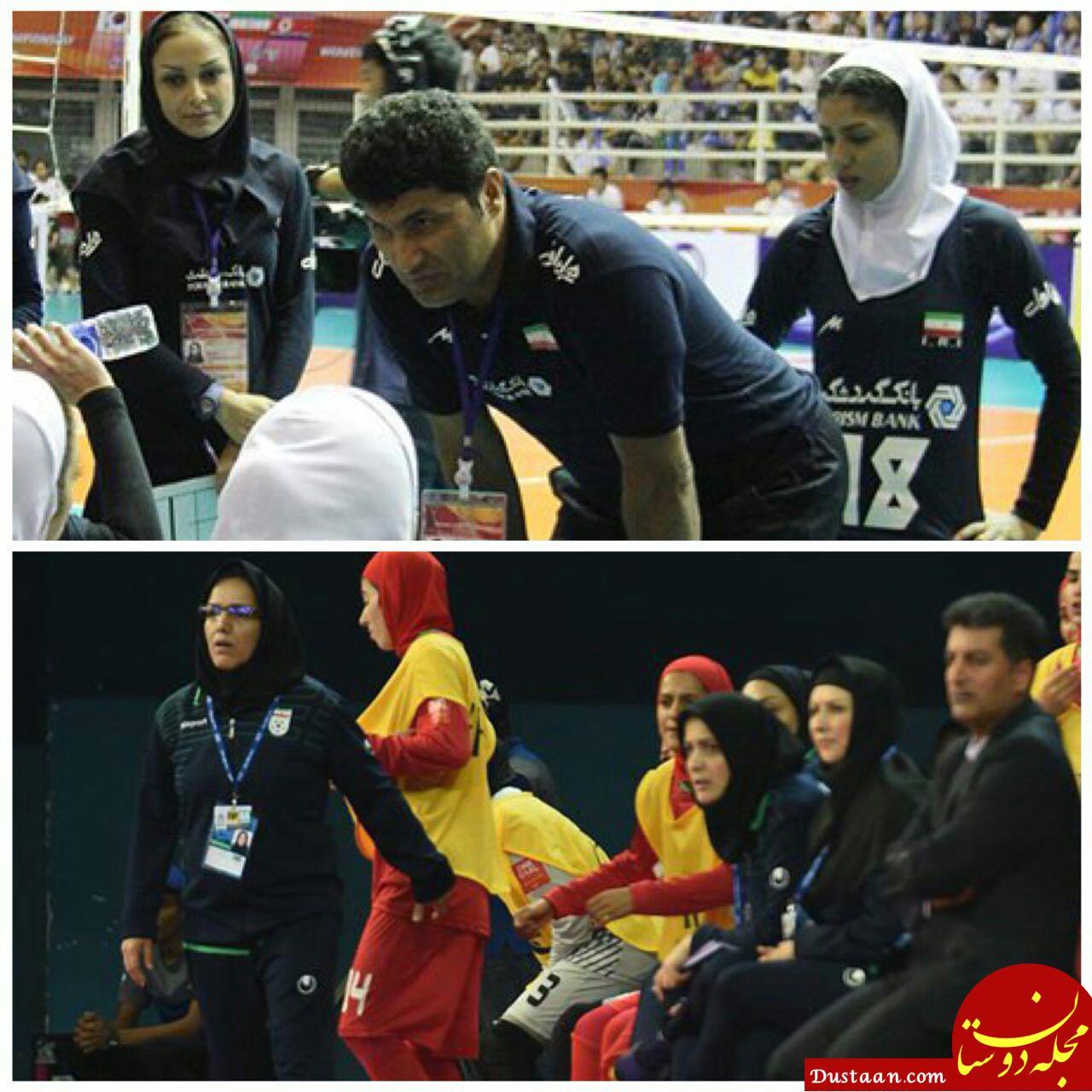 ورود مردان خارجی به مسابقات بانوان ایرانی ممنوع!