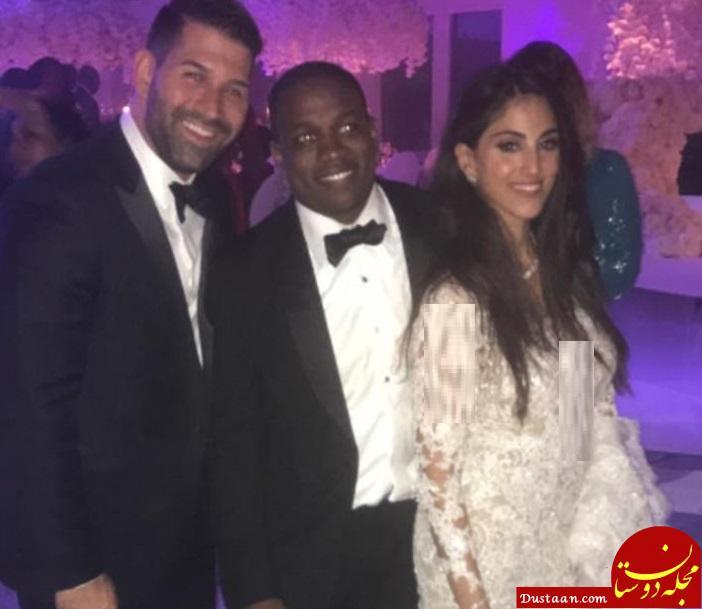عروسی باشکوه دختر زیبای ایرانی با پسر آفریقایی! +تصاویر