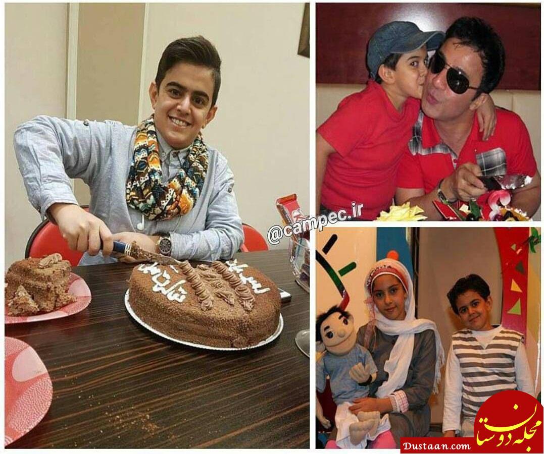 امیرمحمد متقیان 22 ساله شد! +عکس و بیوگرافی